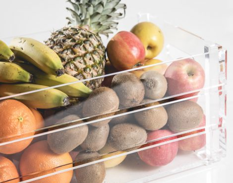 Cassetta frutta in plexiglas