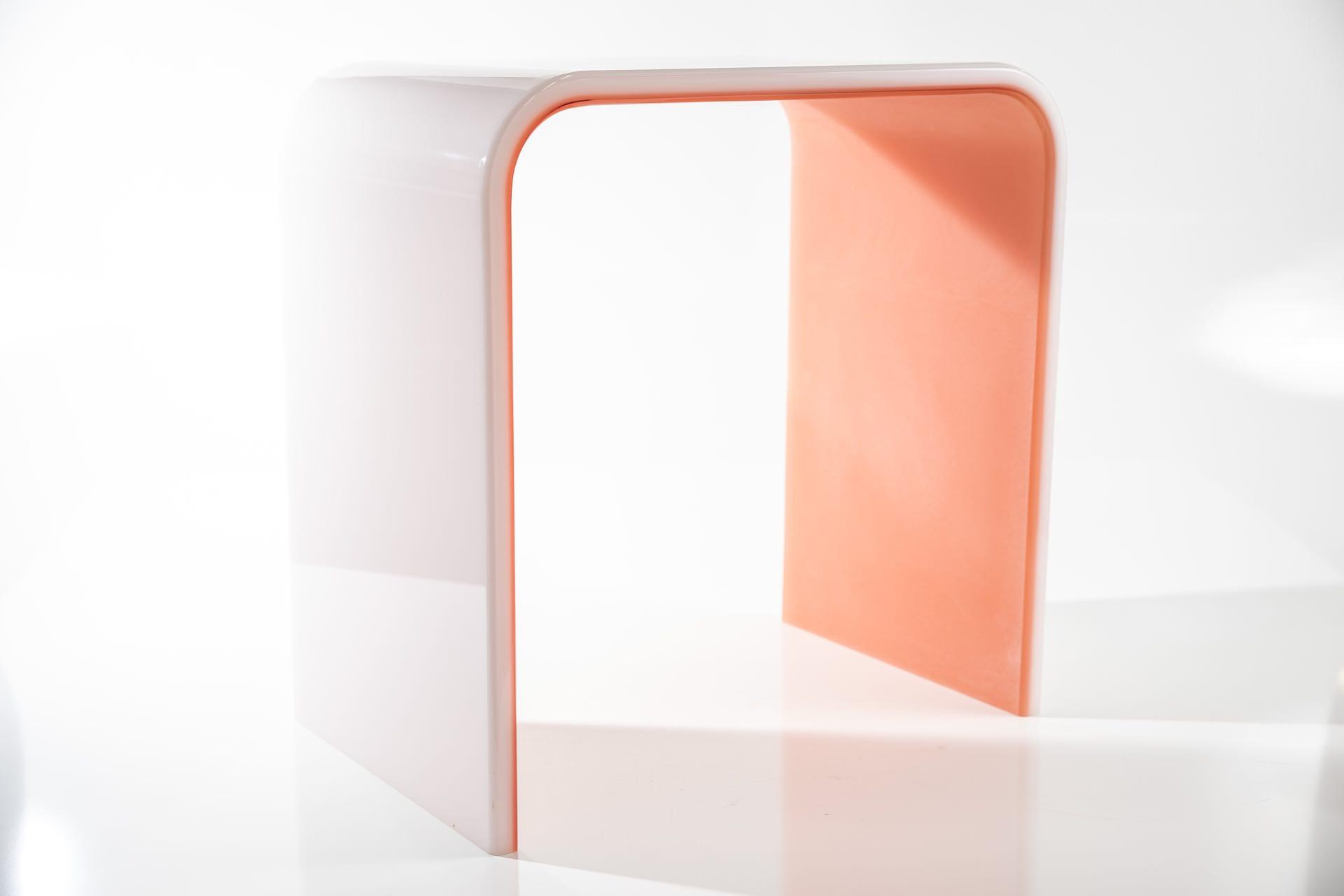 Tavolino plexiglas su misura