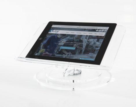 Porta ipad in plexiglas