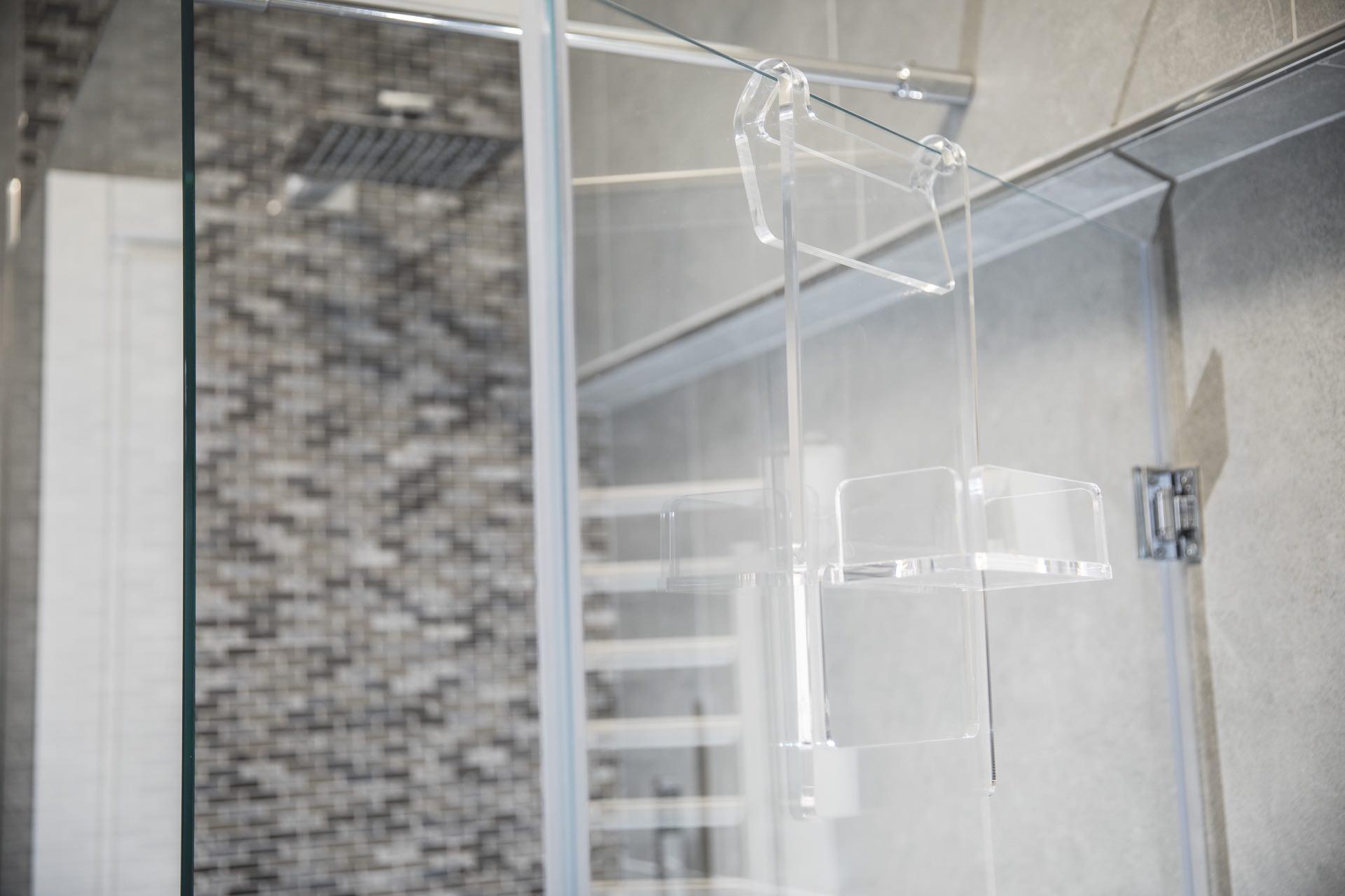 organizer doccia plexiglas